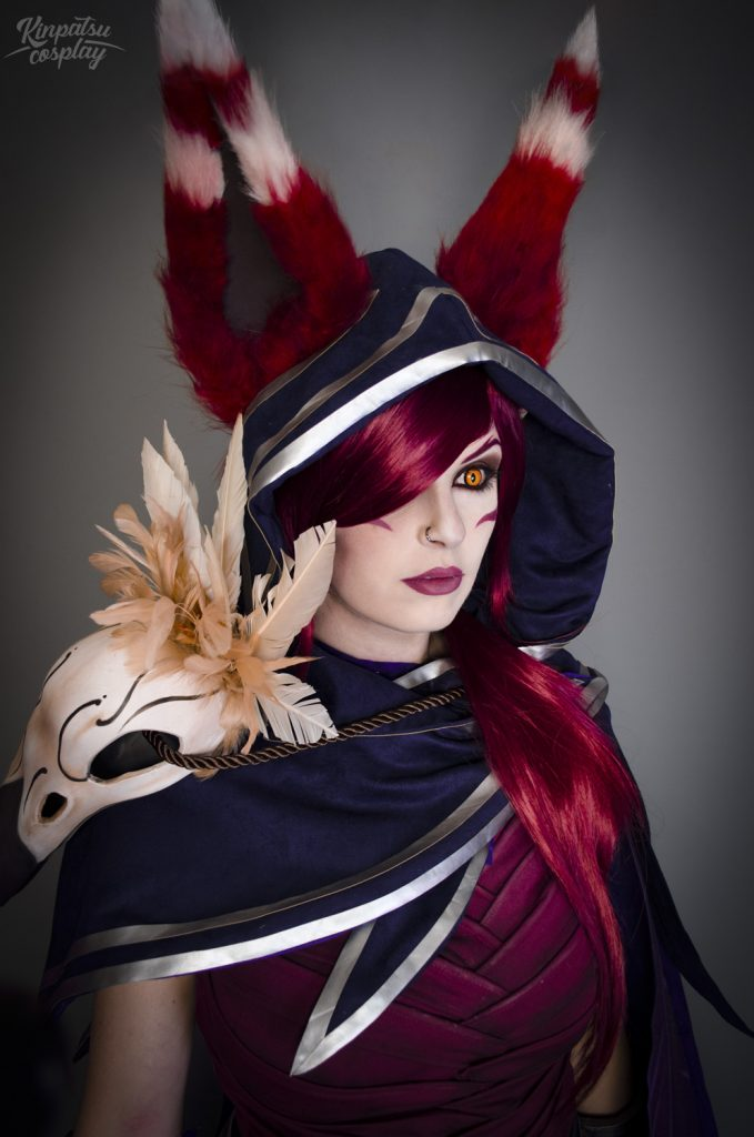 Xayah Cosplay from League of Legends by Kinpatsu