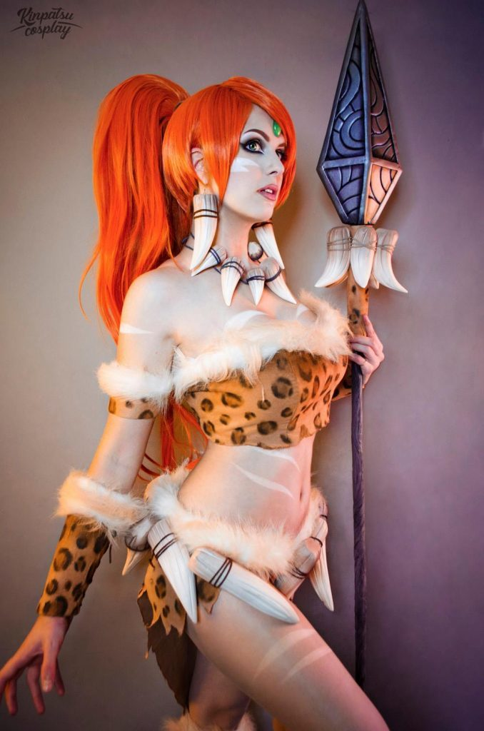 Leopard Nidalee from League of Legends by Kinpatsu Cosplay