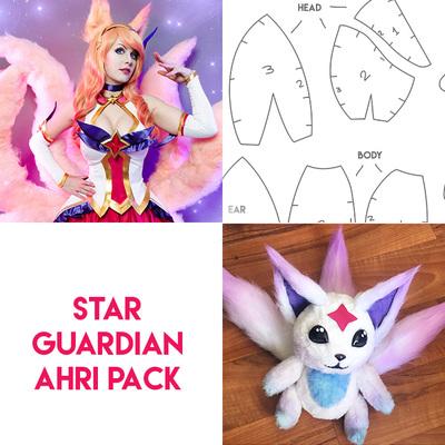 Star guardian ahri cosplay