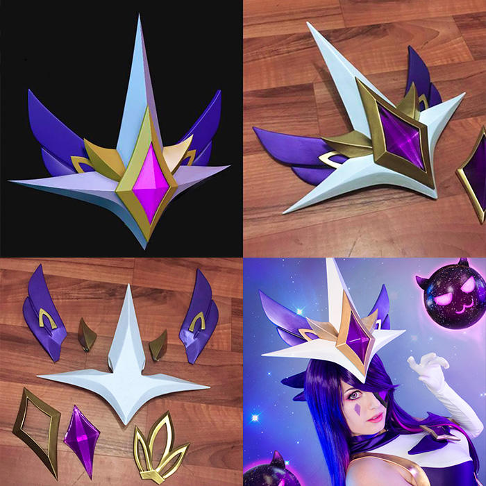 Syndra (league of legends) helmet and claw progress sachie.