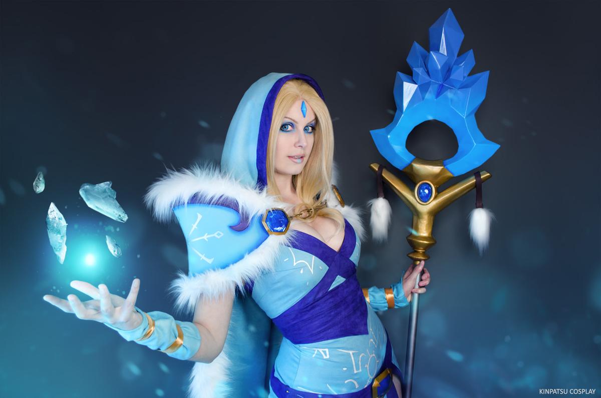 crystal maiden cosplay print kinpatsu cosplay
