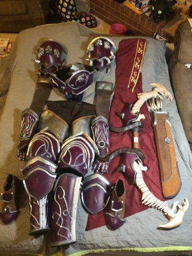 Warchief Sylvanas Armor Pattern Set photo review