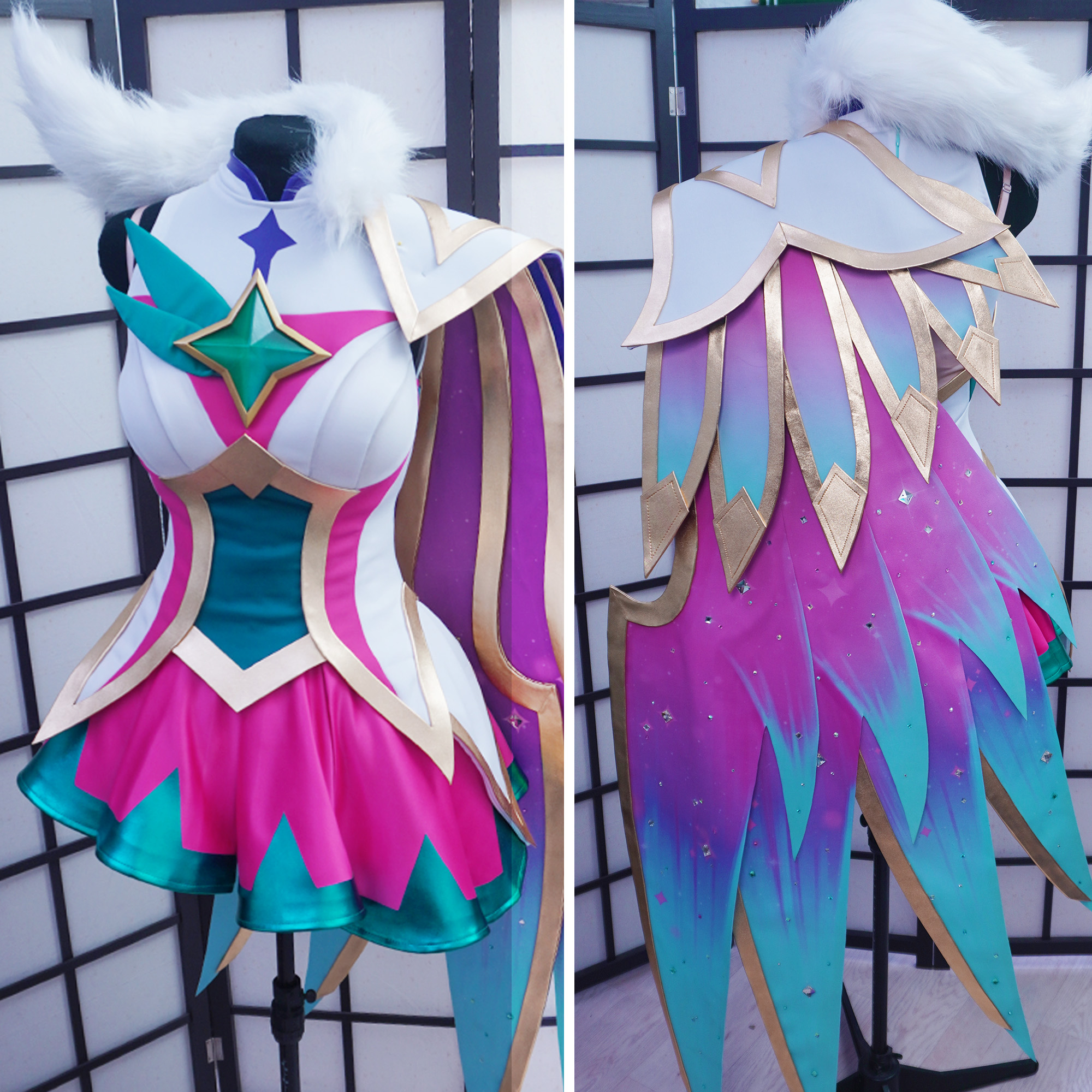 Star Guardian Xayah Cosplay Tutorial(PDF) | Kinpatsu Cosplay