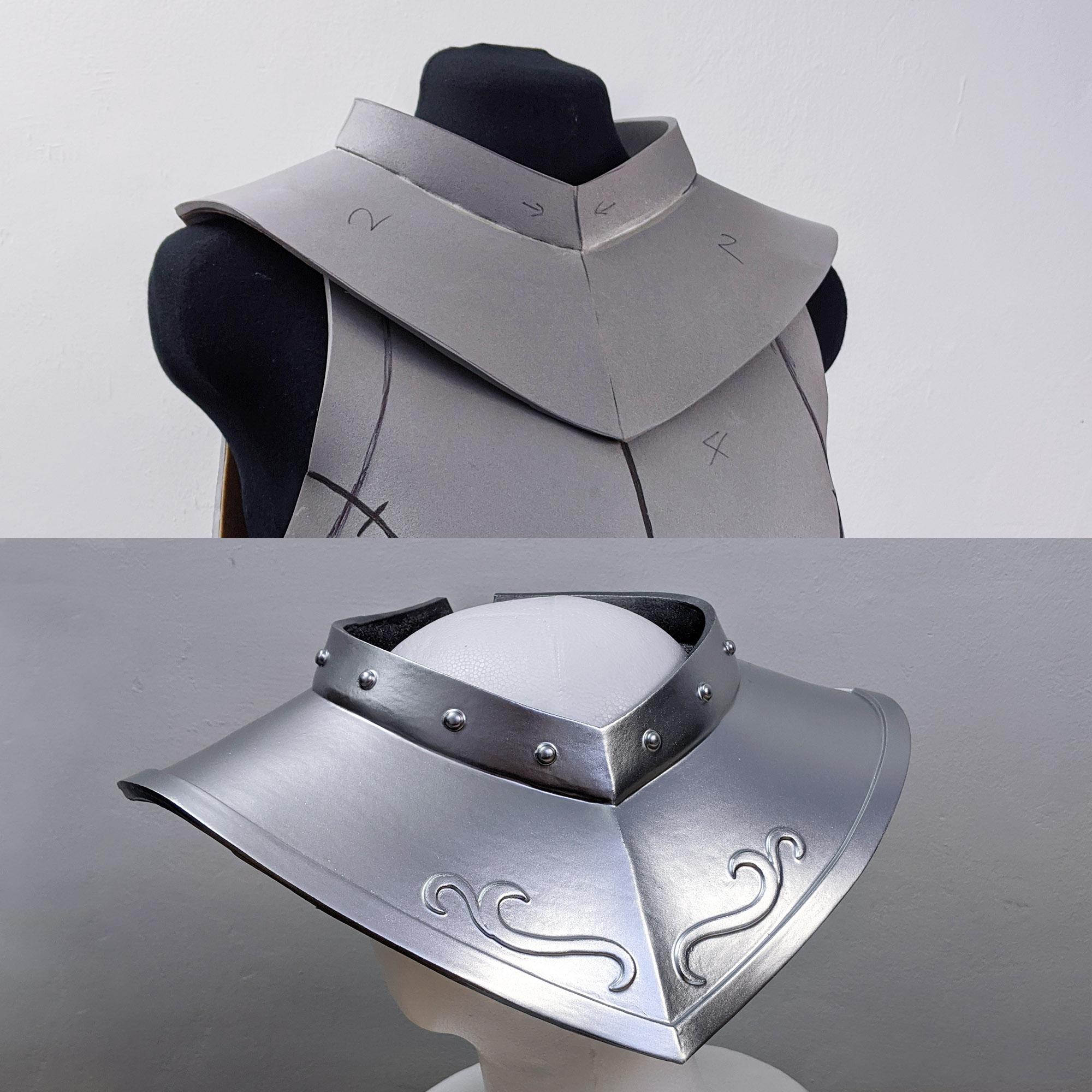 Medieval Cosplay Armor Patterns Kinpatsu Cosplay